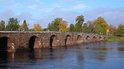 Sveriges längsta stenbro