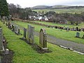 Eddleston cemetery, and the village beyond - geograph.org.uk - 1185555.jpg