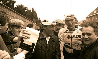 Alfons De Wolf Belgian cyclist