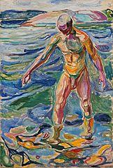 Bathing Man