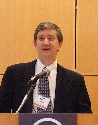 Edward Felten - Edward Felten at Princeton University