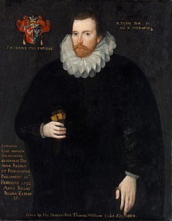 Edward Coke English lawyer and judge