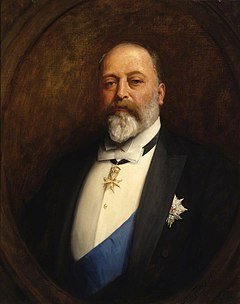 January 1: Edward VII becomes Emperor of India. Edward vii england.jpg