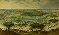 Een belegering van een stad, vermoedelijk het beleg van Gulik door de Spanjaarden onder Hendrik van den Bergh, 5 september 1621-3 februari 1622 Rijksmuseum SK-A-857.jpeg