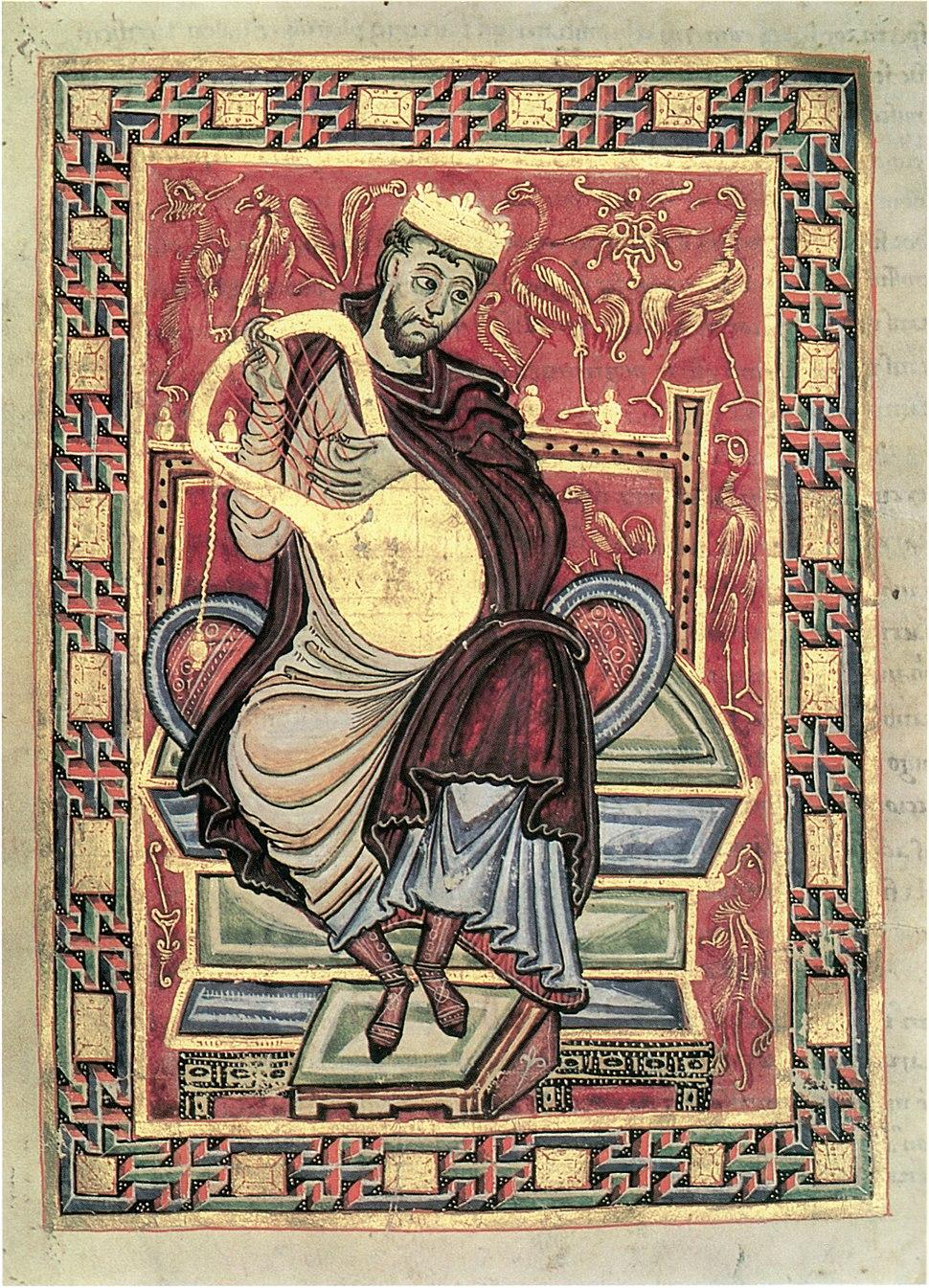 Egbert-Psalter, fol. 20v
