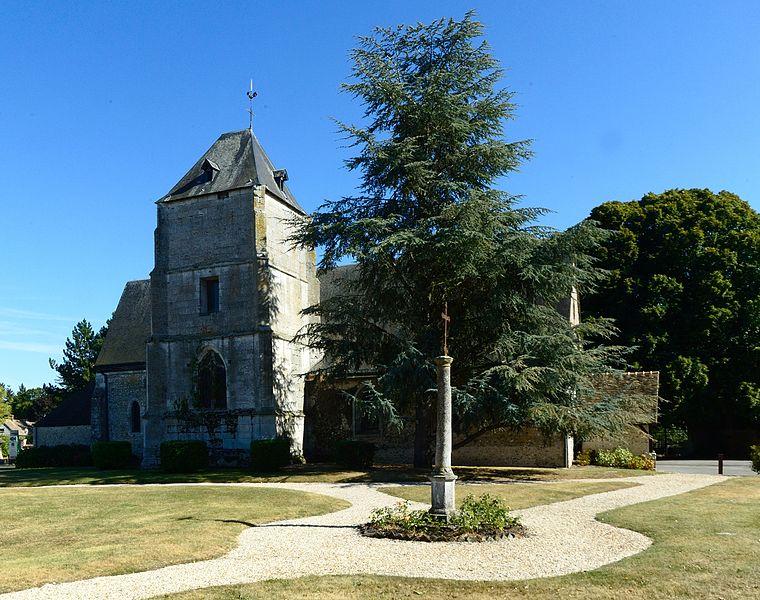 Eglise Paroissiale Saint Germain à Ecardenville sur Eure
