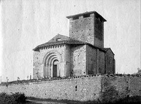 L'église par Eugène Trutat en 1884