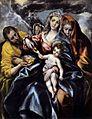 El Greco - The Holy Family with St Mary Magdalen - WGA10509.jpg