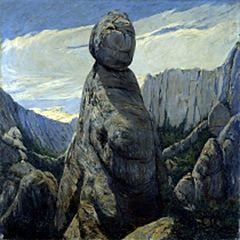 El gegant encantat. Montserrat