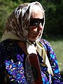 Elderly Woman in Park - Tiraspol - Transnistria (36817337445).jpg