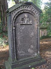 Grabmal von August Alexander Klengel auf dem Eliasfriedhof in Dresden (Quelle: Wikimedia)