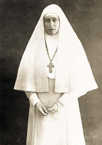 Princess Elisabeth of Hesse and by Rhine (1864–1918) - Grand Duchess Elizabeth Feodorovna as a nun after her husband's death