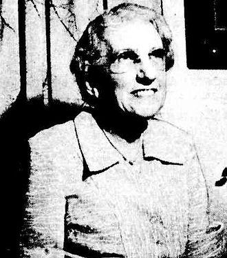 Ben Chifley - Mrs Elizabeth Chifley, wife of Ben Chifley