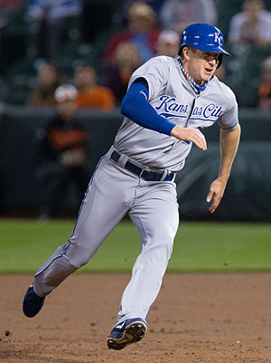 Elliot Johnson (baseball) - Johnson with the Kansas City Royals