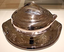 987559568 Elsa Peretti, bowl with lid and tray, sterling silver, for Tiffany & Co.,  1984