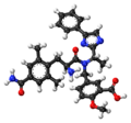 Eluxadoline ball-and-stick model.png