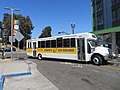 Emery-Go-Round bus at MacArthur station, September 2019.JPG