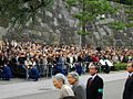 Emperor Akihito and Empress Michiko to watch Special Parade of the Ceremonial Horse-Drawn Carriages.JPG