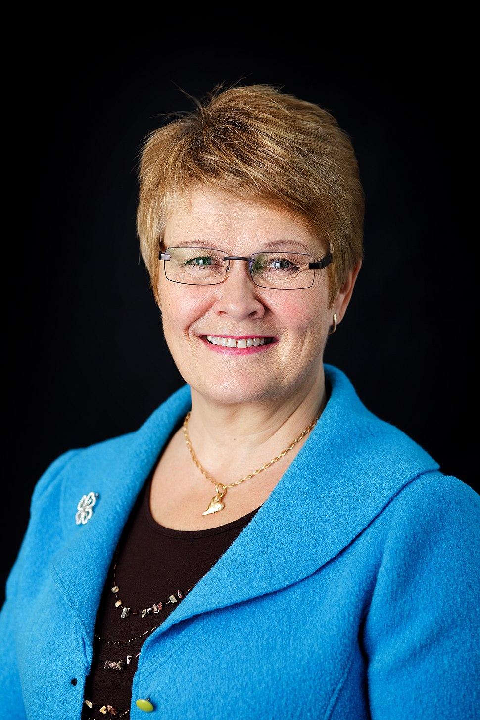 Energi- och naringsminister Maud Olofsson. Sverige