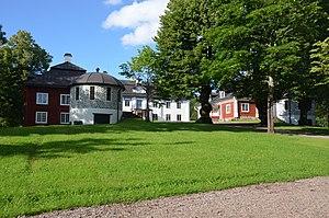 Engelsberg Ironworks - Image: Engelsbergs bruk Herrgården med flyglar