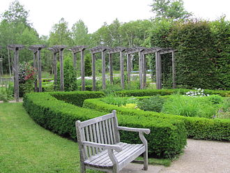 University of Guelph Arboretum - Part of the English Garden