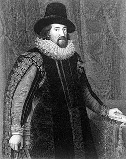 Engraving; portrait of Francis Bacon; proof Wellcome L0014876