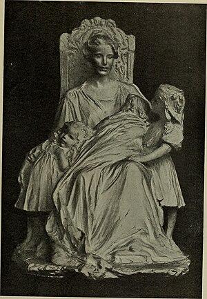 Bessie Potter Vonnoh - Image: Enthroned, by Bessie Potter Vonnoh