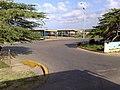 Entrada al terminal de pasajeros de Pueblo Nuevo.JPG