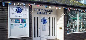 Shipwreck Museum - Entrance to The Shipwreck Museum Hastings
