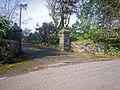 Entrance Gateway to Old Rectory, Llanteg - geograph.org.uk - 1002882.jpg