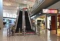Entrance escalators of ZBAA T3E Air China first class lounge (20180823105557).jpg
