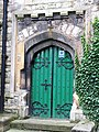 Entrance to the Parish Church of St. Martin, Gospel Oak - geograph.org.uk - 1534216.jpg