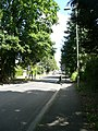 Entrance to the village centre on Portsmouth Road in Liphook, Hampshire, England 4.jpg