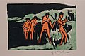 Ernst Ludwig Kirchner. Bathers Throwing Reeds, from the portfolio Brücke. 1910 (1909, published 1910) (24449114213).jpg