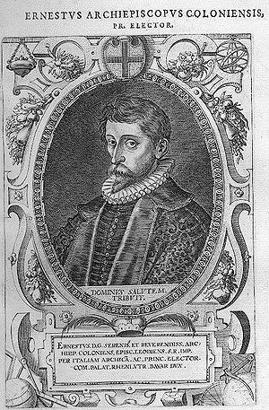 Ernest of Bavaria - Ernestus (ca. 1600-02)