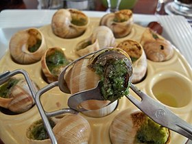 Image illustrative de l'article Escargot de Bourgogne (mets)