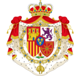Coat of arms of the King of Spain (Unofficial reproduction)