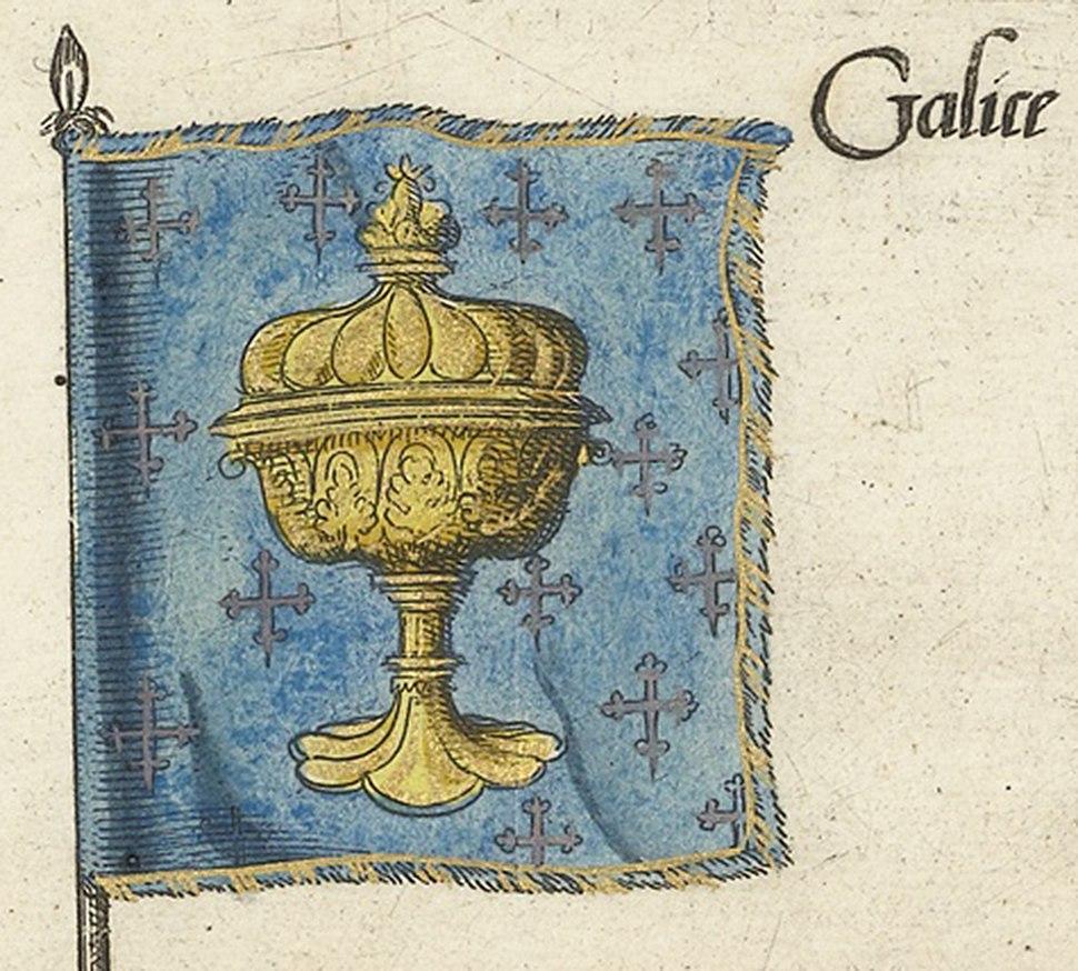Escudo reino de Galicia - Kingdom of Galicia-II-detail