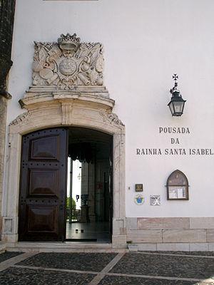 Pousadas de Portugal - Pousada da Rainha Santa Isabel, Estremoz, installed in a medieval Royal palace.