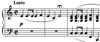 étude written by Chopin
