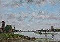 Eugène Boudin - La Meuse à Dordrecht (1884).jpg