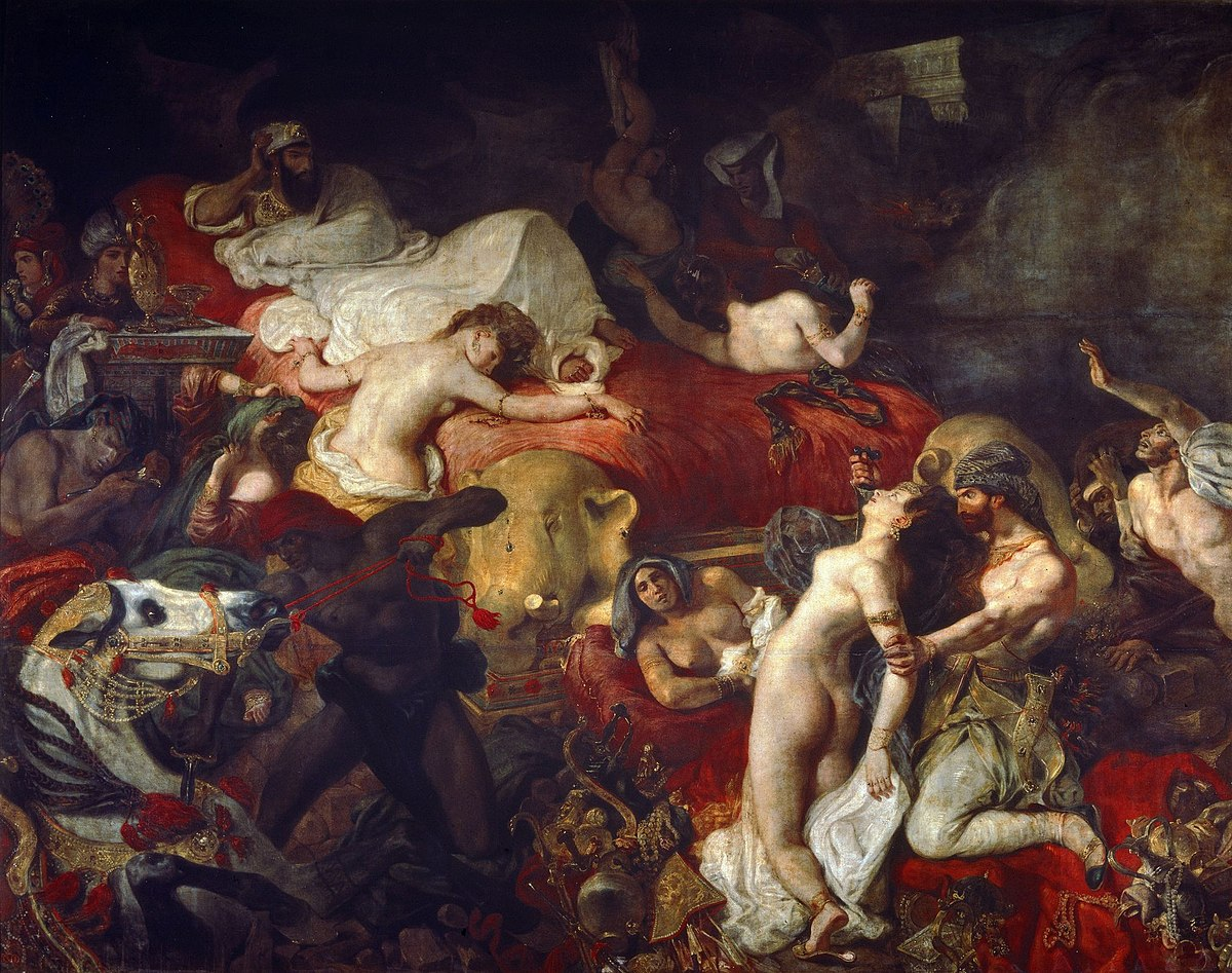 Eugene Delacroix - La Mort de Sardanapale.jpg