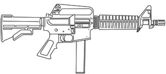 Colt 9mm SMG - The Colt 9mm SMG