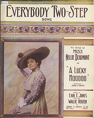 1912 in music - Image: Everybody Two Step 1912 01