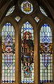 Exeter Cathedral, Stained glass window (36888729325).jpg
