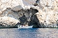 Exit to the Blue Cave on Bisevo island in Croatia (48693763026).jpg