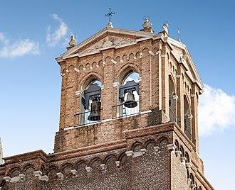 Santi Giovanni e Paolo, Venice - Image: Exterior of Santi Giovanni e Paolo (Venice) Campanile a vela
