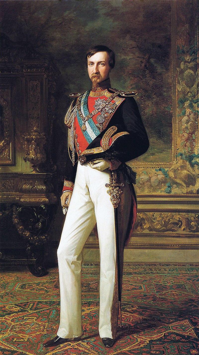 F. de Madrazo - 1851, Antonio de Orleans, Duque de Montpensier (Palacio Real de Madrid, 220 x 128 cm).jpg