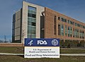 FDA Sign & Bldg 21 at Entrance (5204602349).jpg