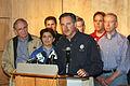 FEMA - 35645 - FEMA Administrator Paulison at a press conference in Iowa.jpg